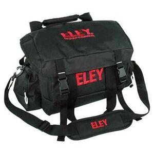"""DKG Range Bag With Shoulder Strap 18"""" Black With Eley Red Logo Nylon ELEYBAG"""
