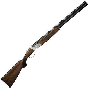 """Beretta 686 Silver Pigeon I Sporting Over/Under Shotgun Left Handed 12 Gauge 32"""" Barrel 3"""" Chamber 2 Rounds Wood Stock Blued Finish Silver Receiver with Scroll Engravings J6869H2L"""