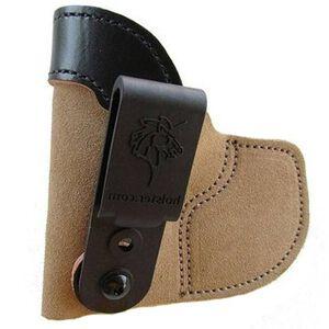 DeSantis Pocket Tuk S&W J-Frame and Similar Inside the Waistband Holster Left Hand Leather Natural 111NB02Z0