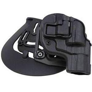 """BLACKHAWK! SERPA CQC Belt/Paddle Holster S&W J Frame 2"""" Left Hand Polymer Black 410520BK-L"""