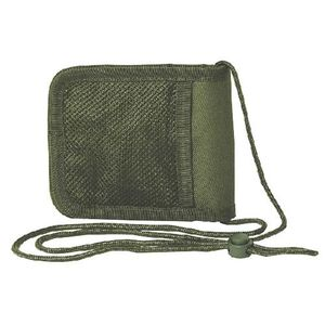 """Voodoo Tactical Travel Passport Holder/Neck Wallet 6"""" x 5"""" Closed Size Olive Drab Green 002604000"""