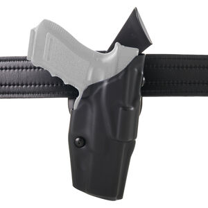 Safariland 6390 ALS Mid-Ride Duty Belt Holster Fits GLOCK 19 / 23 / 45 with TLR-1/X3000/Inforce APL Hi-Gloss Black
