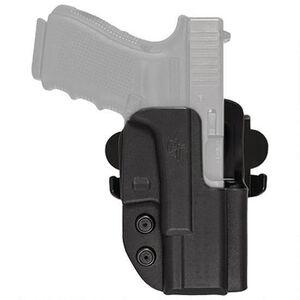 """Comp-Tac International Holster S&W L-Frame Revolver with 6"""" Barrel OWB Right Handed Kydex Black"""