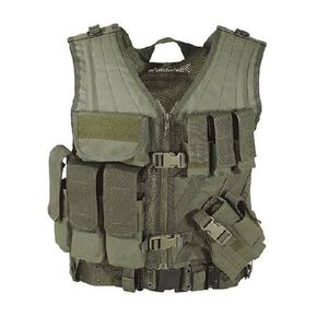 Voodoo MSP 06 Entry Assault Vest Large to Extra Large OD Green 20-8112004330