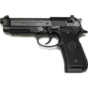 "Beretta 92A1 Semi Auto Handgun 9mm Luger 4.9"" Barrel 17 Rounds Picatinny Rail Black Finish J9A9F10"