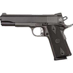"Rock Island Armory Standard FS 1911 .45 ACP Semi-Automatic Pistol, 5"" Barrel, 8 Rounds, Black"