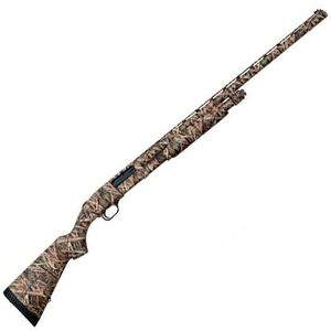"Mossberg 835 Ulti-Mag Waterfowl Pump Action Shotgun 12 Gauge 3.5"" Chamber 28"" Vent Rib Barrel 5 Rounds Synthetic Stock Mossy Oak Shadow Grass Camo Finish"