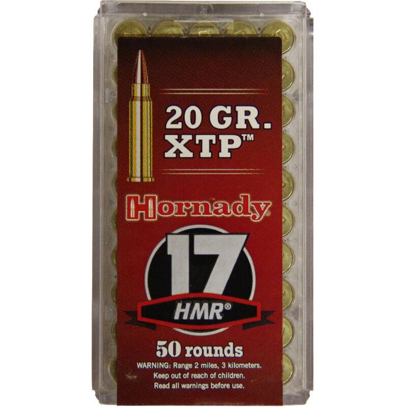 Horandy, .17 HMR Ammunition 50 Rounds, JHP Rimfire, 20 Grains