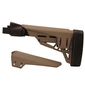 Saiga TactLite Elite Six Position Adjustable Stock with Scorpion Recoil Pad Flat Dark Earth