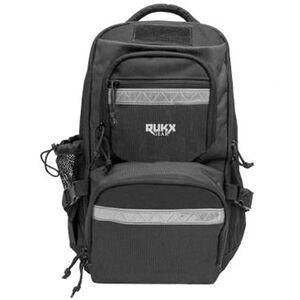 "ATI RUKX Gear Backpack 20""x11""x10"" Floating Water Resistant Black"
