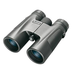 Bushnell Powerview 10x42 Compact Binoculars Roof Prism Rubber Armored Black 141042