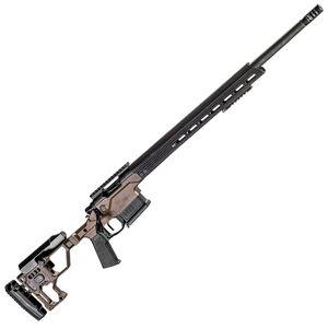 "Christensen Arms MPR 6.5 PRC Bolt Action Rifle 24"" Carbon Fiber Barrel 5 Rounds Christensen Arms Chassis Desert Brown/Black Finish"
