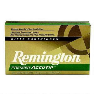 Remington .308 Winchester Premier Ammunition 20 Rounds, AccuTip, 165 Grains