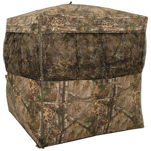 """Browning Mirage Hunting Ground Blind 59""""x59""""x66"""" 600D Polyester Realtree Xtra"""