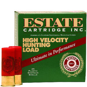 "Estate Cartridge High Velocity Hunting Load .410 Bore Ammunition 2-1/2"" Shell #7.5 Lead Shot 1/2oz 1200fps"
