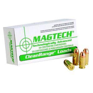 Magtech Clean Range .40 S&W Ammunition 50 Rounds TMJ 180 Grains CR40A