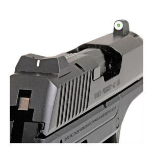 XS Sight Systems DXW Big Dot Night Sights Ruger LC9/LC9S/LC380 Green Tritium Front/Solid White Rear Matte Black