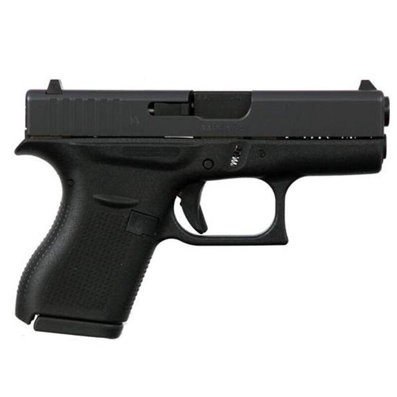 "GLOCK 42 .380 Auto Semi Auto Pistol 3.25"" Barrel 6 Rounds Polymer Frame Black"
