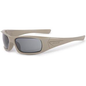 ESS 5B Ballistic Sunglasses Smoke Gray Lens Tan