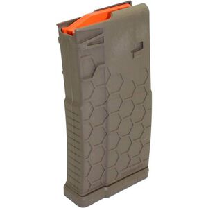Hexmag DPMS LR-308 Magazine .308 Win 20 Rounds Polymer Flat Dark Earth