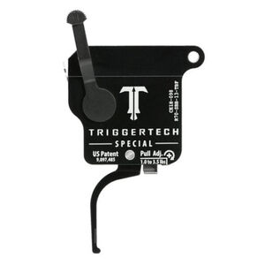 Trigger Tech Remington 700 Special Drop In Replacement Trigger Right Hand/Bolt Release/Flat Lever PVD Black Finish