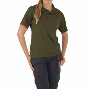 5.11 Tactical Women's Performance Polo Polyester Small Black 61165
