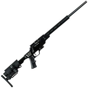 "Keystone 722 PT Bolt Action Rimfire Rifle .22 LR 20"" Threaded Barrel 7 Rounds Target Chamber MOD X Aluminum Chassis Adjustable Stock Blued"