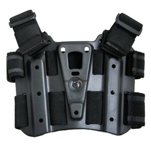BLACKHAWK! SERPA Tactical Drop Leg Holster Platform Black Finish 432000PBK
