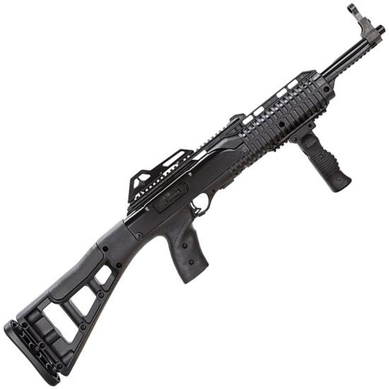 "Hi-Point Firearms 995TSFGFL Semi Automatic Carbine 9mm 16.5"" Barrel 10 Rounds Black Polymer Skeletonized Stock Includes Light and Forward Grip"