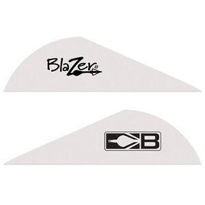 "Bohning Blazer Vanes 2"" Solid White100 Pack 10832WH2"