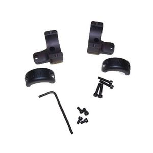 "DNZ Products Game Reaper Browning A-Bolt Long and Short Action 2 Piece 1"" Medium Mount Left and Right Hand Black BA1M2"