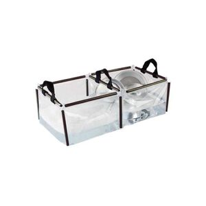 Coleman Double Wash Basin PVC .85 lbs Clear 2000016491