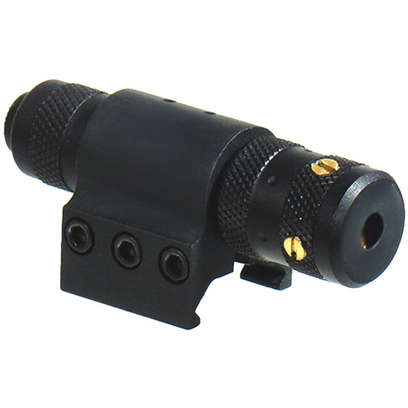 Red Tactical Laser Adjustable Leapers UTG Push Button And Pressure Switch Includes Four LR44 Batteries