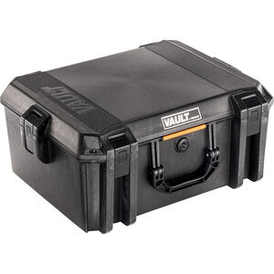 "Pelican V550 Vault Equipment Case 19""x14""x8.5"" Polymer Matte Black"