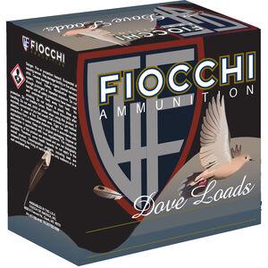 """Fiocchi Dove Load 20 Gauge Ammunition 2-3/4"""" #7.5 Lead Shot 7/8oz 1210fps"""