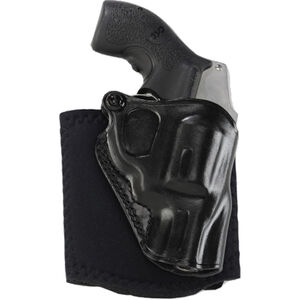 """Galco Ankle Glove S&W J Frame 2"""" Ankle Holster Right Hand Black"""