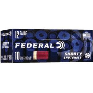 Federal Shorty Shotshell 12 Gauge Ammunition 10 Rounds Rifled Slug 1 oz 1200 fps