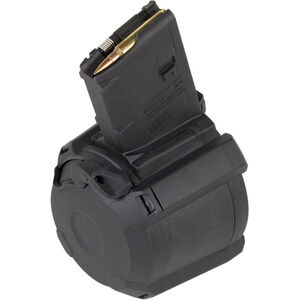 Magpul PMAG D-60 AR-15 Drum Magazine, 5.56/.223, 60 Rounds, Black