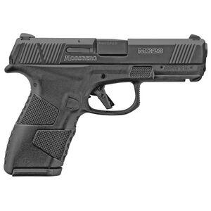 "Mossberg MC2c 9mm Luger Compact Semi Auto Pistol 4"" Barrel 15 Rounds 3-Dot Sights Black Polymer Frame/Black DLC Slide Finish"