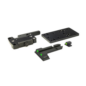 Meprolight MicroRDS S&W M&P Quick Detach Adapter and Backup Sights Black ML881504