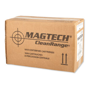 Magtech .38 Special Ammunition 1000 Rounds FEB Flat Nose 158 Grains CR38A