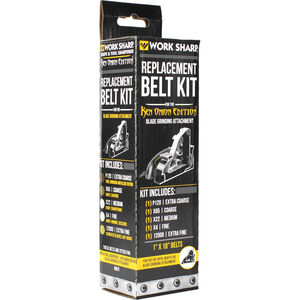 Work Sharp Replacement Belt Kit for Ken Onion Edition Blade Grinding Attachment