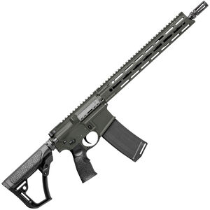 "Daniel Defense DDM4v7 SLW AR-15 Semi Auto Rifle 5.56 NATO 16"" Barrel 32 Rounds M-LOK Handguard Collapsible Stock DD Deep Woods Finish"