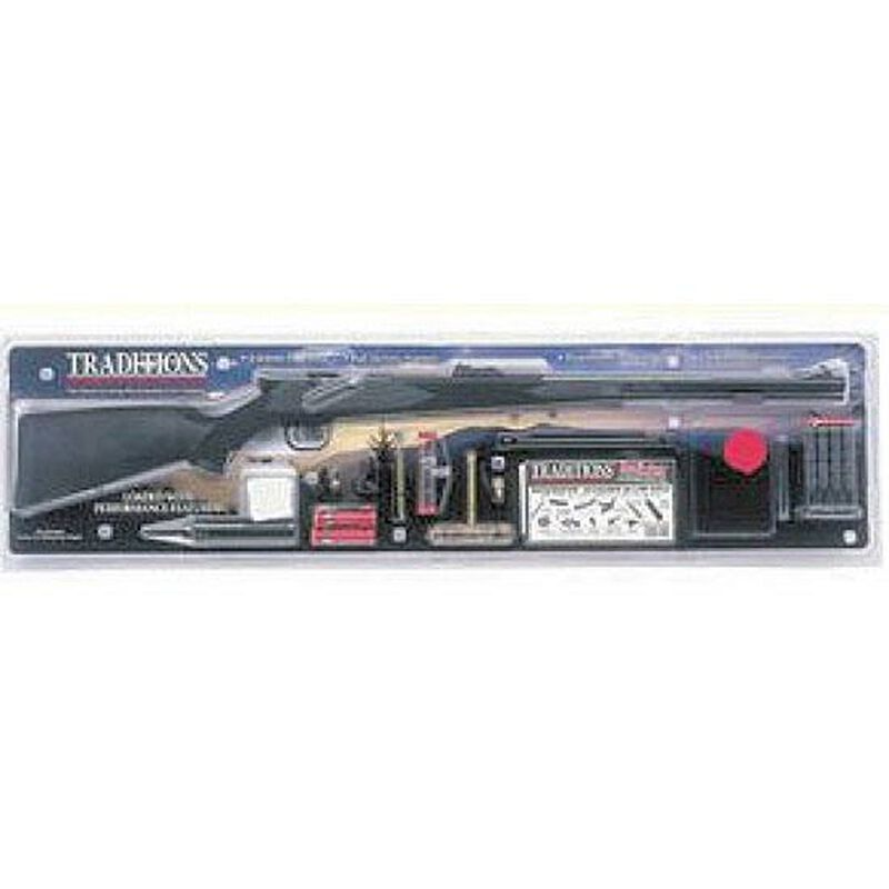 Traditions Tracker Black Powder Rifle with Kit  50 Caliber 22
