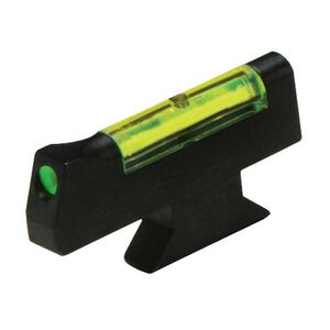 HiViz Front Sight S&W Revolver Green Fiber Steel Black SW3003-G