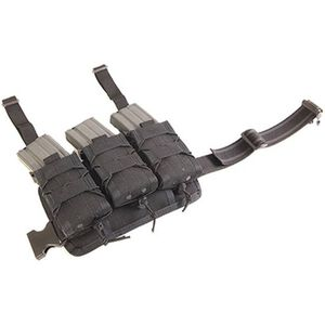 HSGI Rifle Leg Rig with 3 Rifle TACOs Black