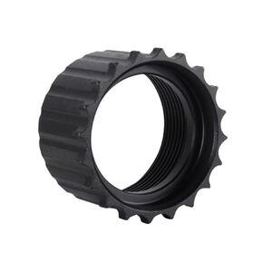 Troy Industries AR-15 Barrel Nut TRX Steel Matte Black STRX-ELI-W0BT-00