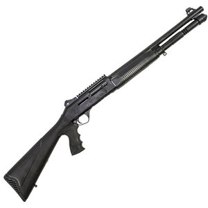 """SDS Imports S-4 12 Gauge Semi-Auto Shotgun 18.5"""" Barrel 3"""" Chamber 5 Rounds F/O Front Sight Synthetic PG Stock Black Finish"""