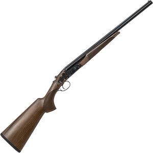 "CZ-USA Sharp-Tail Coach Gun SxS Break Action Shotgun 12 Gauge 20"" Double Barrel 3"" Chambers 2 Rounds Color Case Hardened Receiver Turkish Walnut Stock Black Finish"