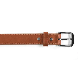 Magpul Tejas Gun Belt Leather/Polymer Chrome Buckle Size 36 Light Brown MAG73323036